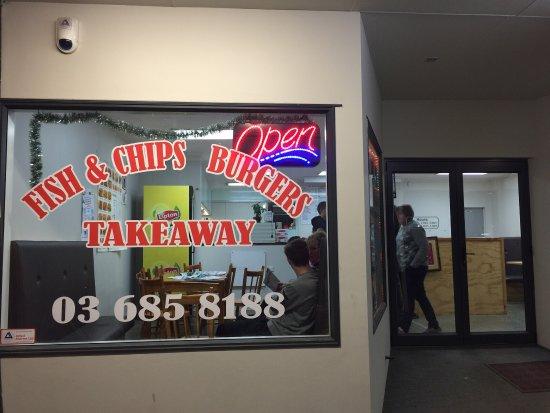 Fairlie, Nieuw-Zeeland: Mount Hut Chinese Restaurant & Takeaway