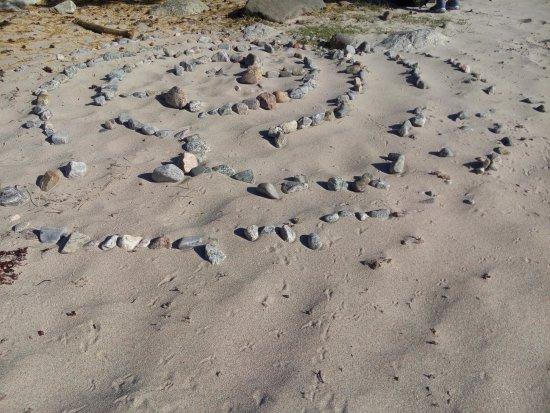 Near the Storsand sea shore, Nattaro island, sweden