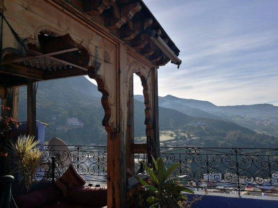 Dar Lbakal: terrasse