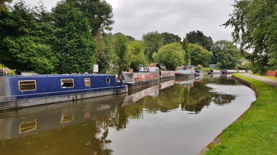 Bingley Five Rise Locks: Top of the Lock