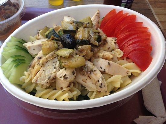 Côté Goût : Salade de poulet