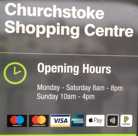 Church Stoke, UK: Hours of business 