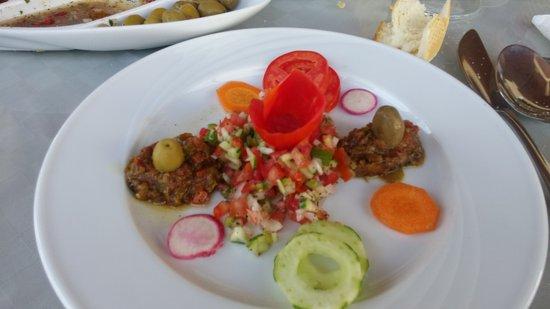 Ajim, Tunísia: Salade