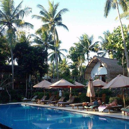 Excellent hôtel sur l'île de Nusa Penida