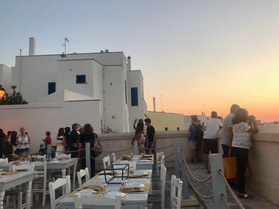 Sunset - Picture of La Terrazza 300 mila, Otranto - TripAdvisor