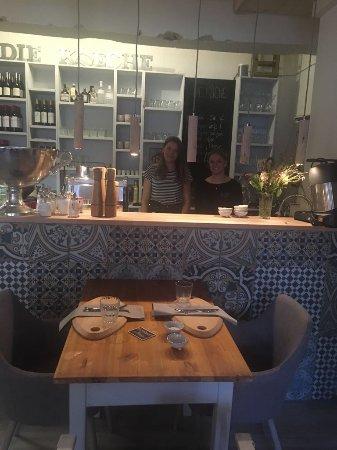 Theke - Bild von Die Küche - Esszimmer, Bamberg - TripAdvisor