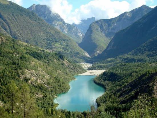 Erto e Casso, Italy: Lago del Vajont