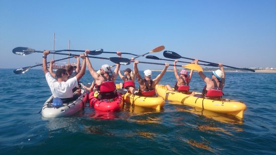 Sea Kayaking Ravda-Nesebar