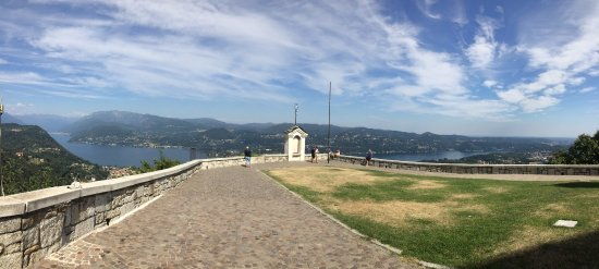 Madonna del Sasso, Italien: la vista dal Santuario