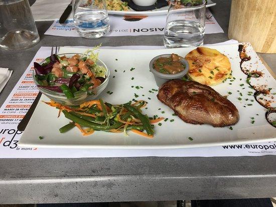Restaurant Rue Doree Le Mans