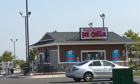 Middletown, DE: Putters Paradise Ice Cream