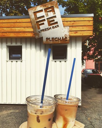 Prostejov, Czech Republic: Iced latte