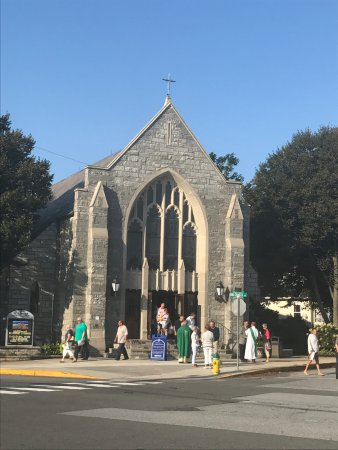 Rehoboth Beach, DE: Exterior of St Edmond's