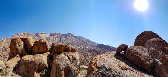 Brandberg Mountain : Blick ins Massiv