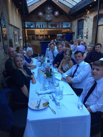 The Court Yard Bar and Restaurant: A great space for 50 guests
