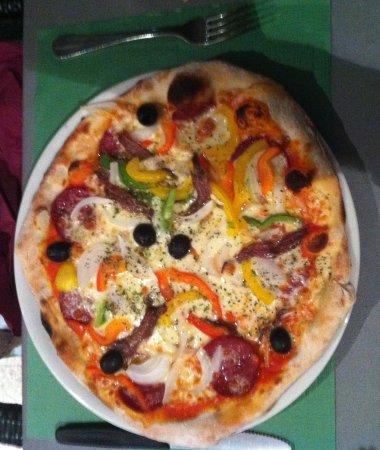 Holderbank, Schweiz: Felsgarten - Pizza