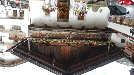 Hotel Ciampian: Scorci di Moena