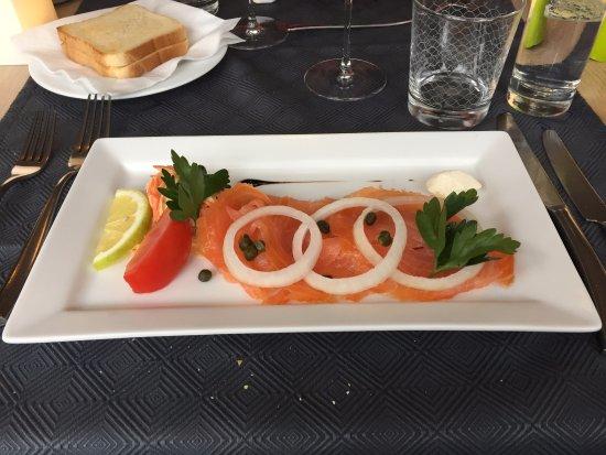 Ettelbruck, Luxembourg: Smoked salmon