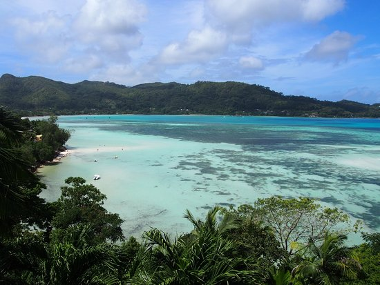 Anse Boileau, Seychelles: View from balcony