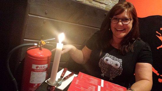 Aqui Tapas Bar: Light my fire !