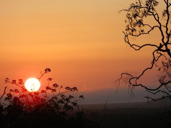 Undara Volcanic National Park, Australia: Sunset at Undara