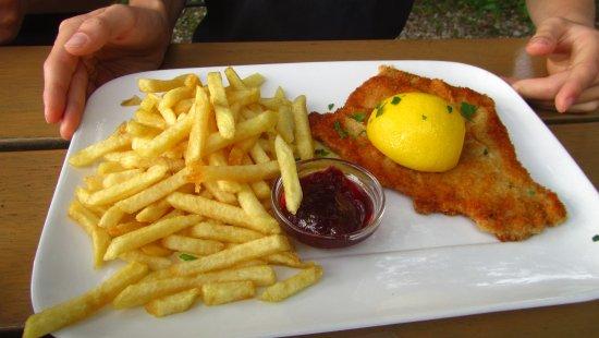 Alta Bavier, Alemania: Schnitzel piccola