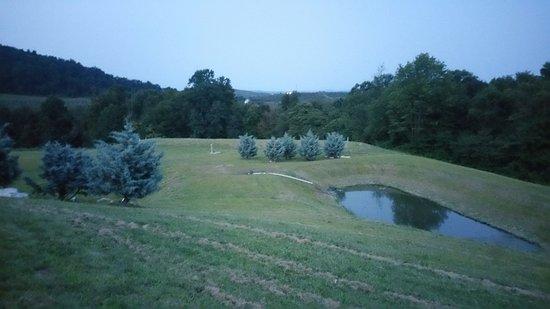 Biglerville, PA: Rolling hills at dusk.