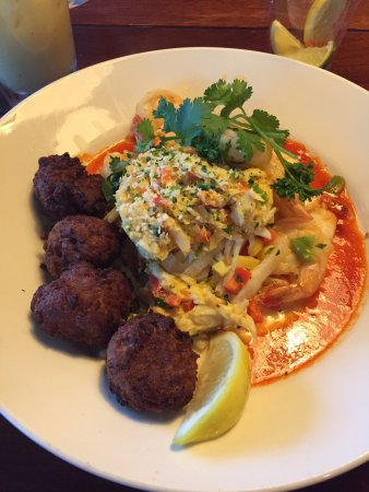 Bahama Breeze: Crab and Shrimp Carnivale - Amazing!