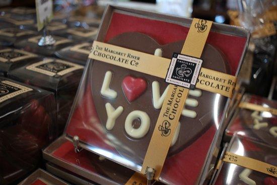 West Swan, Australia: Chocolate offerings