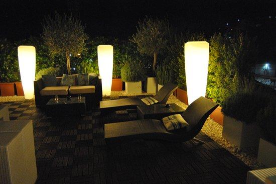 Hotel Lisboa Plaza: terrasse à disposition des clients de l'hôtel