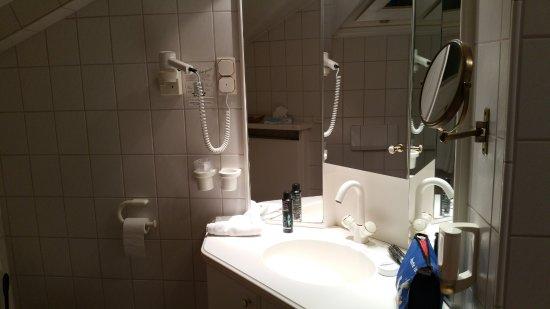 Hotel Haus Duden: Badezimmer