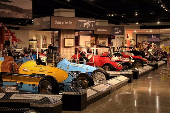 Museum of American Speed : There is a lot to see.
