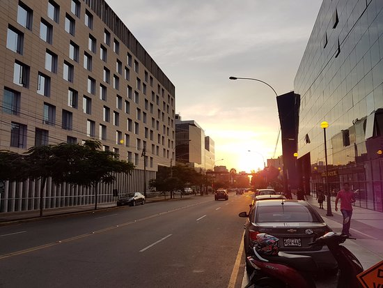 Atton San Isidro: can see beautiful sunset there