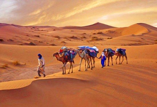 Ait Azzi, Maroc : Merzougacameltours.com