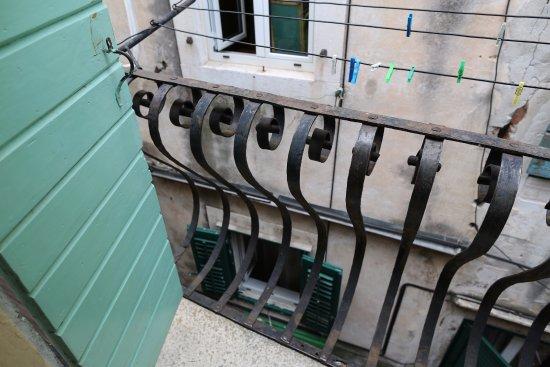 Malena Palace: balcony view
