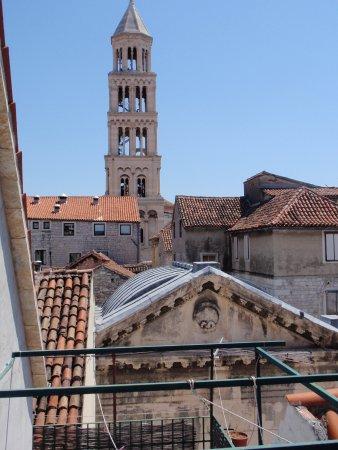 Malena Palace: palace view on balcony