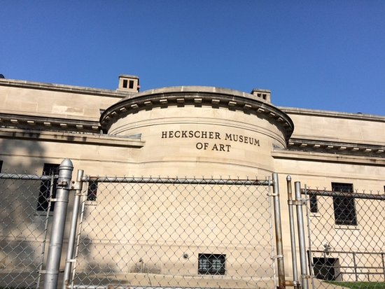 The Heckscher Museum of Art: Rear view of the Museum