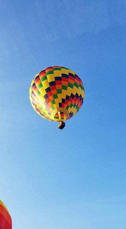 Nicholson, PA: The balloon that we rode in :)