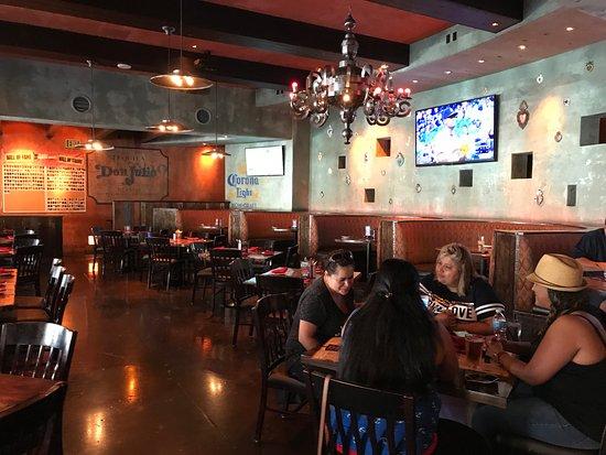 Diablo's Cantina: la salle de restaurant