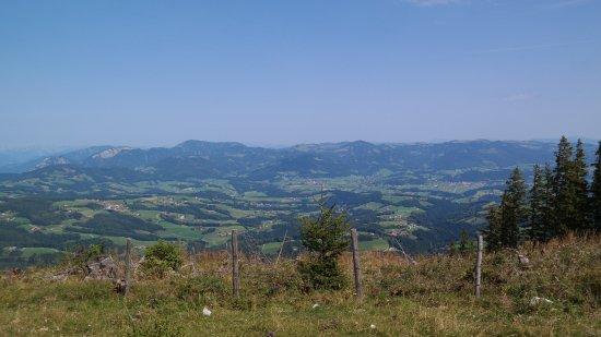 St. Radegund bei Graz, Austria: Ausblick nach Norden