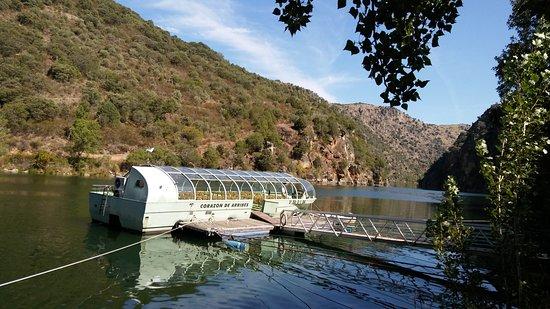 Aldeadavila de la Ribera, Spain: Barco del crucero.