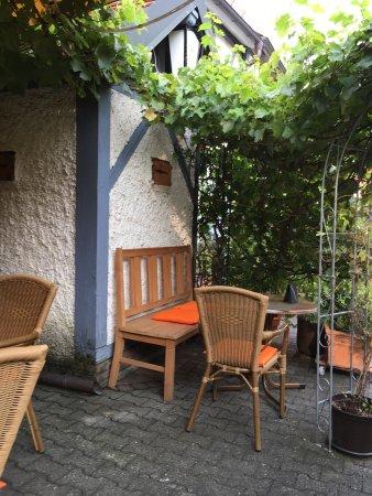 Neuberg, Alemania: Hervorragende Tagliata im romantischen Hof