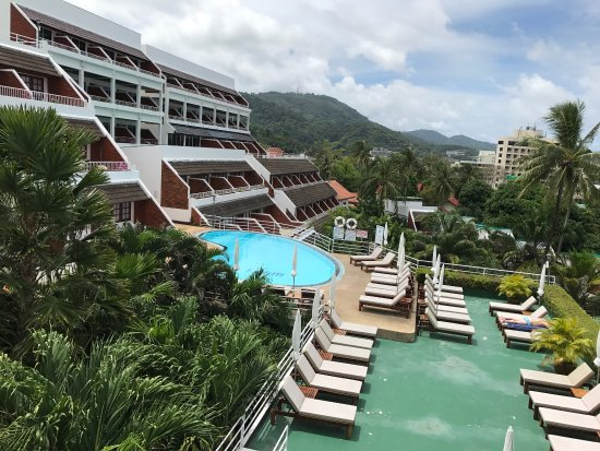 Best Western Phuket Ocean Resort: 眺めが良くて部屋もキレイ。プールも快適です!