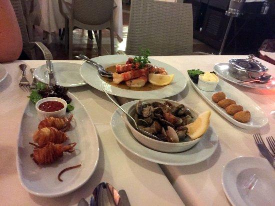Grande Real Santa Eulalia Resort & Hotel Spa: Cena en el Santa Eulália Restaurant