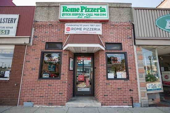 Dunellen, NJ: Front Entrance