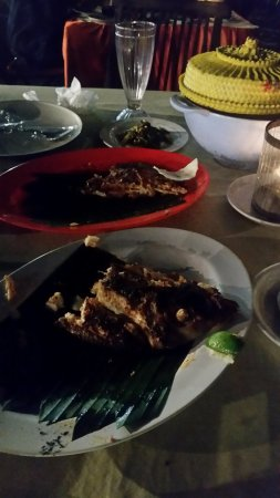 Romantic Dinner in Jimbaran Bay: This was - most probably - red snapper
