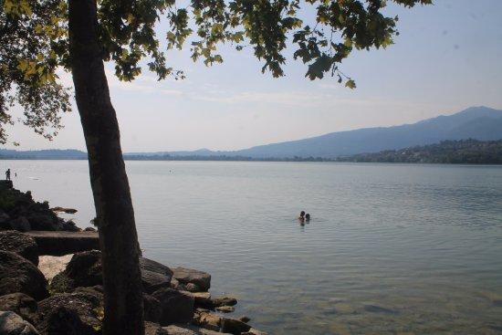 Bosisio Parini, Italie : dettaglio lago
