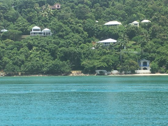 View of Brewers Bay from the sea.