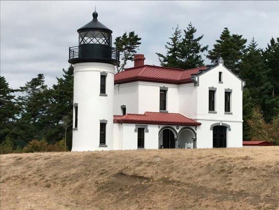 Coupeville, WA: lighthouse