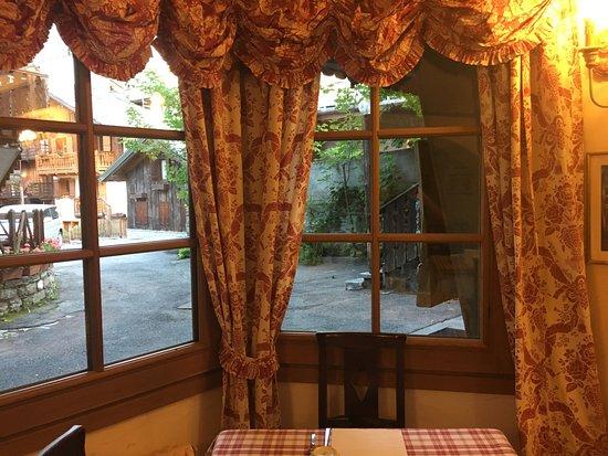 Chalet Hotel Cristallo: vista dalla sala colazione
